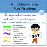 504 & IEP Accomodation Modification guide for struggling students