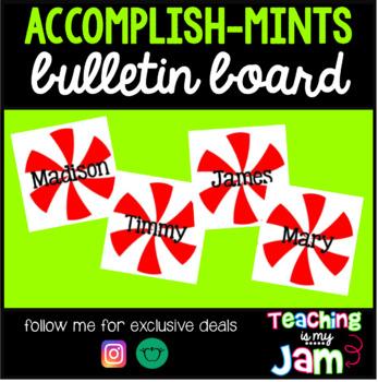 Accomplish-Mints Bulletin Board Decoration
