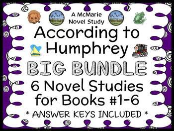 According to Humphrey BIG BUNDLE (Betty G. Birney) 6 Novel Studies : Books #1-6