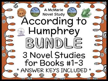 According to Humphrey BUNDLE (Betty G. Birney) 3 Novel Stu