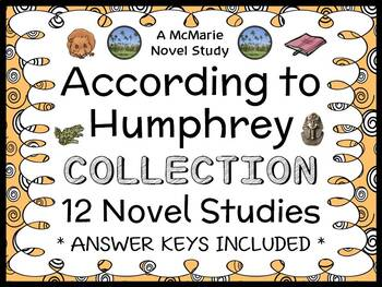 According to Humphrey COLLECTION (Betty G. Birney) 12 Novel Studies (439 pages)