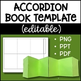 Accordion Book Template (Commercial Use OK)