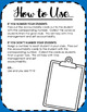 FREEBIE-Accountability Cards