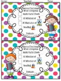 Accountability Editable Sheet for Centers or Independent Work