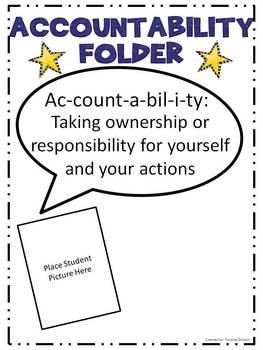 Accountability Folders