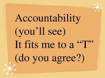 Accountability Song