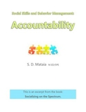 Social Skills and Behavior Management: Accountability