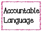 Accountable Language Posters