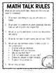 Accountable Math Talk Cards (Monster Themed)