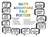 Accountable Math Talk Posters
