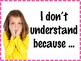 Accountable Math Talk Questions Posters - Commom Core SMPs