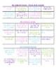 Accountable Reading Project (choice board menu)