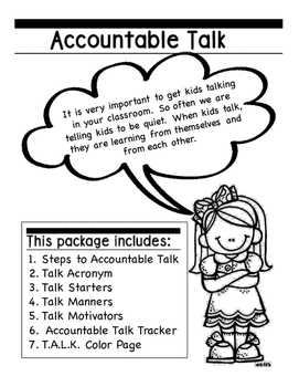 Accountable T.A.L.K. Package