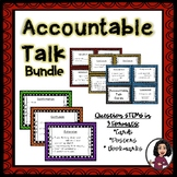 Accountable Talk Card and Poster Set