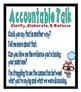 Accountable Talk Anchor Charts Mickey Nerds Friends