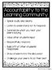 Accountable Talk Anchor Charts and Bookmark
