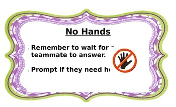 Accountable Talk Anchor Posters