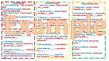 Accountable Talk-Bilingual-Red/Blue Version