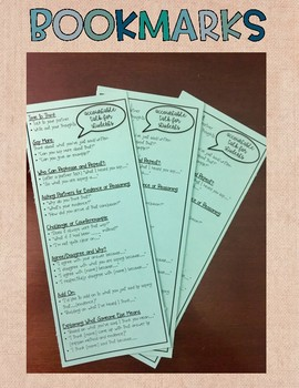Accountable Talk Bookmark and Bulletin Board Set