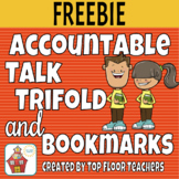 Accountable Talk Bookmark and Trifold