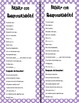 Accountable Talk Bookmarks-Spanish