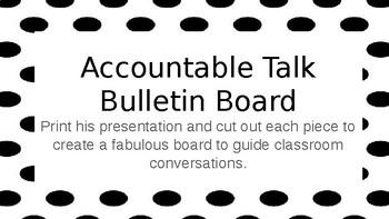 Accountable Talk Bulletin Board