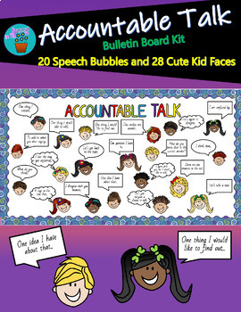 Accountable Talk Bulletin Board Kit