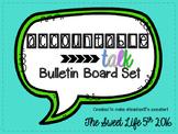 Accountable Talk Bulletin Board Set
