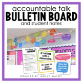 Accountable Talk Bulletin Board and Student Notes