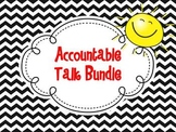 Accountable Talk Bundle {Chevron Design}
