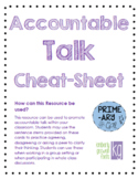 Accountable Talk Cards