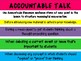 Accountable Talk Cards - Secondary