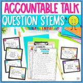 Accountable Talk Question Stems Classroom Bundle