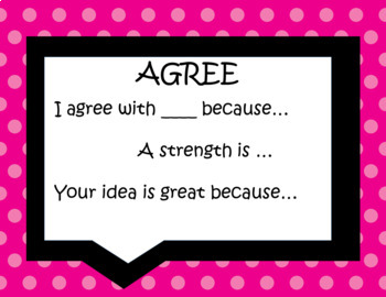 """Accountable Talk Classroom Posters """"Brights"""""""
