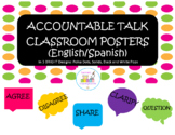 "Accountable Talk Classroom Posters ""Brights"""