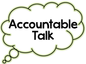 Accountable Talk Clouds