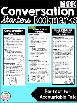 Accountable Talk Conversation Bookmarks
