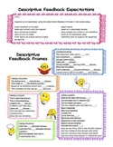 Accountable Talk / Descriptive Feedback Frames