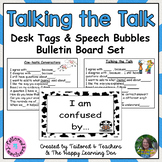 Accountable Talk Desk Tags and Bulletin Board Set (Set 2)