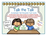 Accountable Talk Discussion Task Cards! Promote Listening