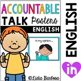 Accountable Talk Posters { English }