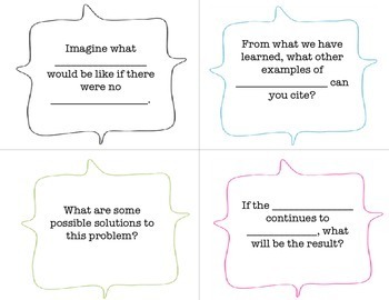 Accountable Talk Focus Questions Pack