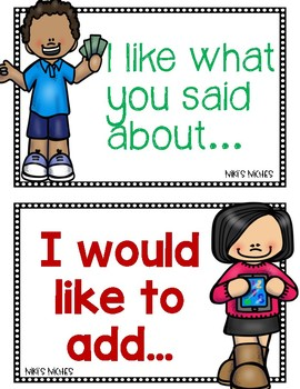 Accountable Talk Freebie