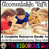Accountable Talk Group Work Resource Bundle