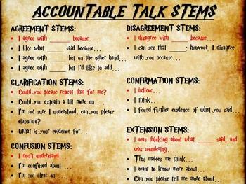 Accountable Talk - Harry Potter Themed