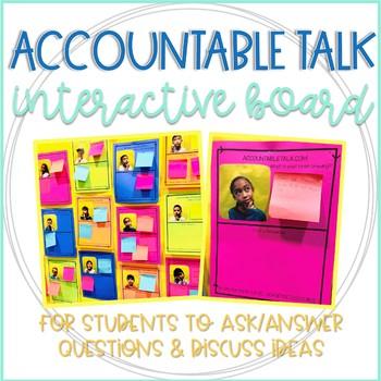 Accountable Talk Interactive Bulletin Board
