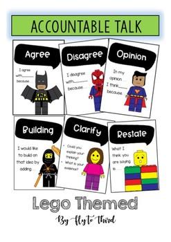 Accountable Talk Lego Theme