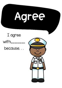 Accountable Talk Nautical Themed