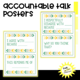 Accountable Talk Number Talk Posters