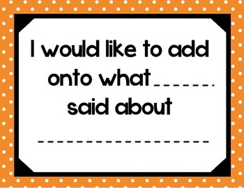 Accountable Talk - Orange Polka Dots